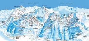 ski resort piste maps family skiing holidays esprit ski