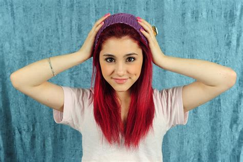 whats wrong with ariana grandes hair swag red hair arii ariana grande wallpaper 3136x2097