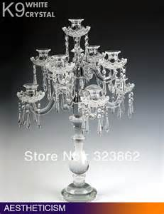 Table Candle Holders Centerpieces Glass Candelabra Centerpiece Promotion Shopping For