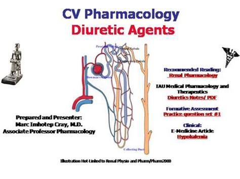 Ivms Cv Pharmacology Diuretic Agents Authorstream Pharmacology Ppt Presentation