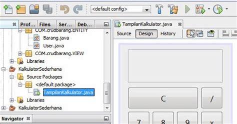 Membuat Aplikasi Antrean Dengan Java Netbeans Ide 8 0 2 Dan Database 1 program kalkulator sederhana menggunakan java netbeans