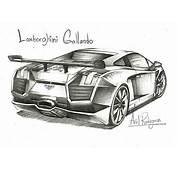 Dibujos A Lapiz De Carros Lamborghini  Imagui
