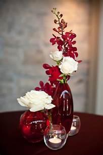Silver Flower Vase 15 Romantic Red Wedding Centerpieces Ideas 19319