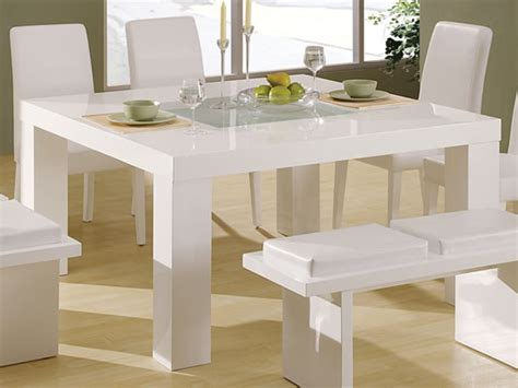 white dining tables hometone