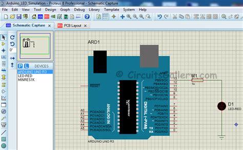 arduino simulator simulate arduino in proteus using