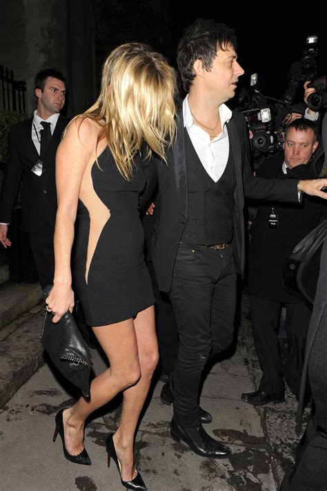 The 3am Worse For Wear Kate Moss And Osbourne Pair Up For A Out by Hince In Kate Moss Leaves Stella Mccartney S Fashion