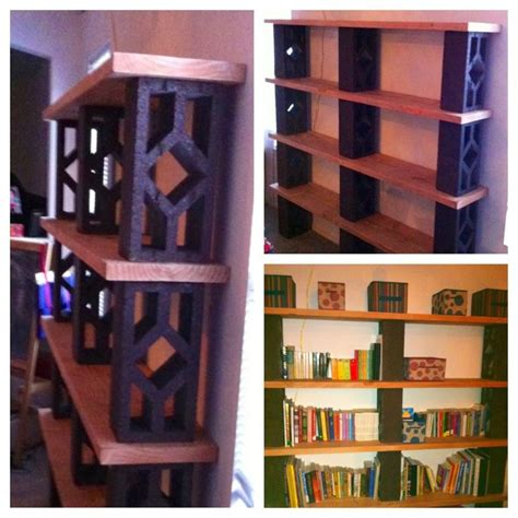 block bookshelves 25 best ideas about cinder block shelves on