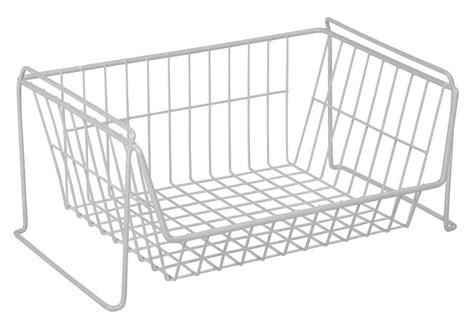 Wire Pantry Baskets by Pantry Closet Organizer In Wire Baskets