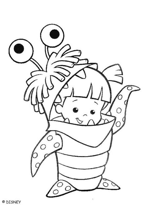 Printable Coloring Pages Monsters Inc | amazing coloring pages monsters inc printable coloring pages