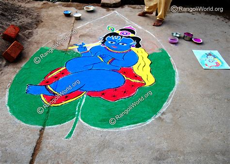 leaf pattern rangoli god rangoli designs collection