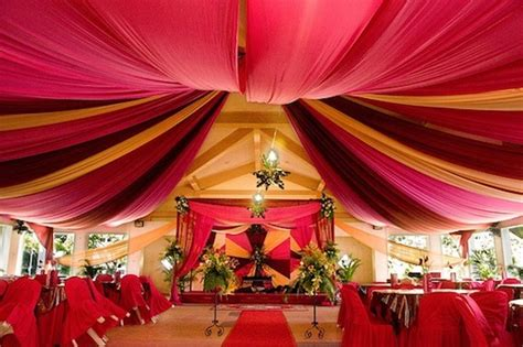 color draping tents weddings