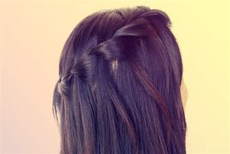 how to section hair for braids french braiding right section over center section long