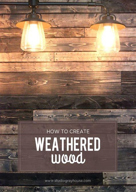 distressed walls tutorial best 25 wood plank walls ideas on pinterest plank walls