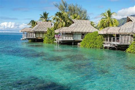 best overwater bungalows in moorea overwater bungalows picture of intercontinental moorea