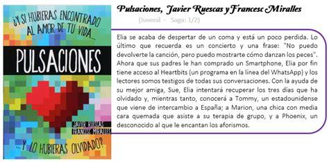 libro pulsaciones cuchu librer 237 a pulsaciones javier ruescas y francesc miralles