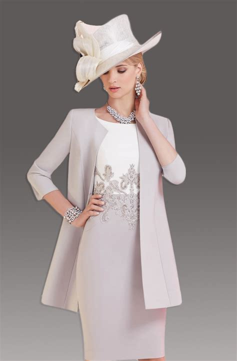 Of The Dress fitted dress with matching coat 991202 size 24