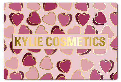 Kylie Jenner Makeup Gift Card - kylie cosmetics valentine collection 2018 new posie k anniversary set