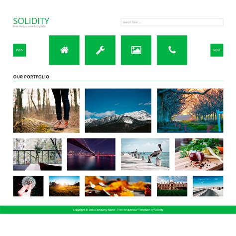bootstrap templates for art gallery template 407 solidity
