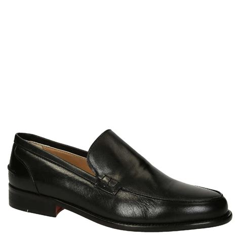 s loafers black black calf leather s loafers shoes leonardo