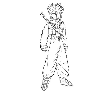dragon ball z trunks coloring pages 10 images of trunks coloring pages printable trunks