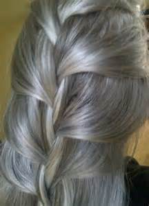 platinum silver hair color blending grey and brown hair brown hairs