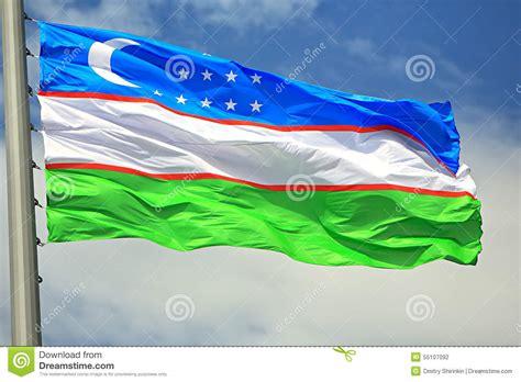flag of uzbekistan stock image image of symbol places flag of uzbekistan stock photo image of waving