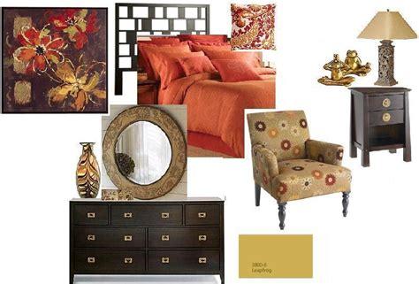beige and orange bedroom joy of decor bedroom color scheme in orange beige and