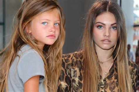 Michael Kors Salma Semiori model most beautiful in the world aged six