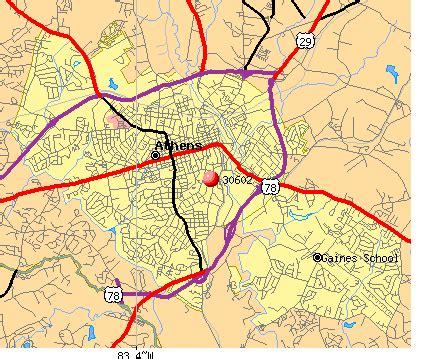 30602 zip code athens clarke county profile