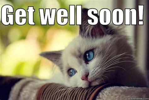 Funny Get Well Soon Memes - so sorry you re feeling bad quickmeme