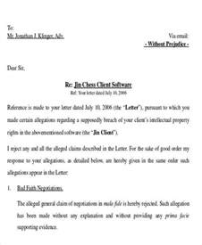 Response Letter After Demand Letter Exles