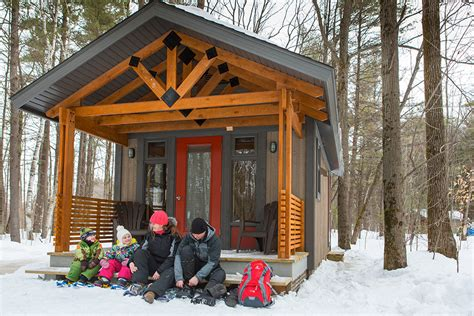 Micro Cabin Plans chalet compact h 233 bergement s 233 paq