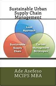 Sustainable Mba Book by Sustainable Supply Chain Management Ade Asefeso