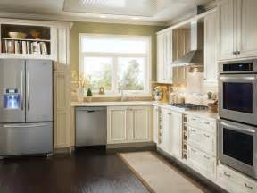 small kitchen cabinets pictures options tips ideas hgtv pertaining yellow amp