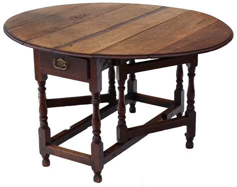 Drop Leaf Gateleg Dining Table Georgian Oak Gateleg Drop Leaf Dining Table Loveantiques