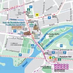 guide to bach tour: potsdam maps