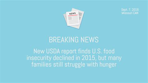 Food St Award Letter Missouri Missouri Poverty Facts Missouri Community Network