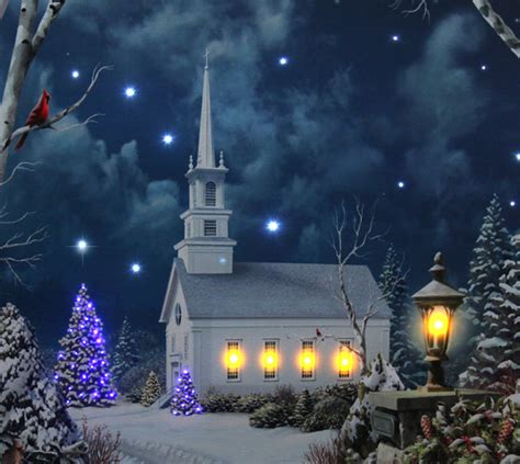 17 inch lighted church scene with colorful rice lights lighted church with colorful rice lights lighted canvas timer