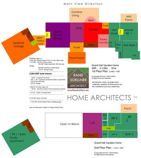 100  [ Old House Plans ]   100 American Foursquare Floor