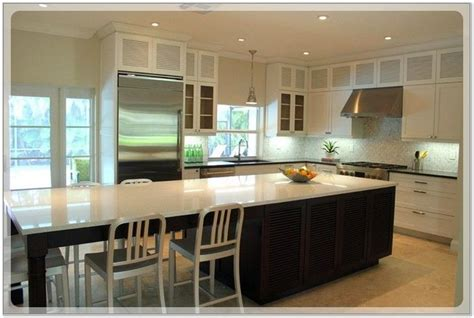 narrow kitchen island with seating best 25 narrow kitchen island ideas on narrow