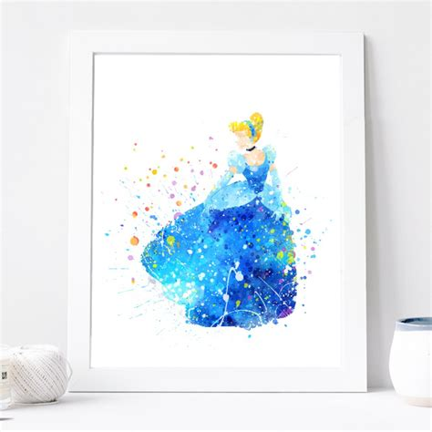hanging art prints 28 cinderella wall art digital download instant