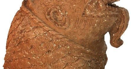 Arca Dinasti Antik gerabah nusantara patung katak motif arca bali