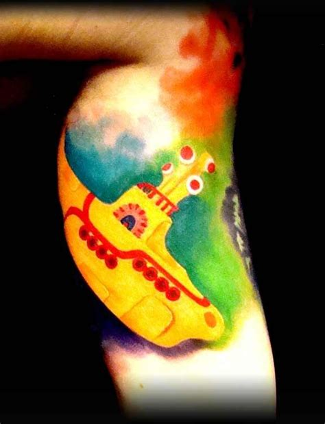 yellow submarine tattoo 31 best beatles tattoos images on beatles