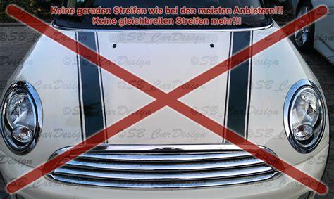 Bmw Aufkleber F R Motorhaube by Streifen Stripes Aufkleber Motorhaube F Bmw Mini Cooper S