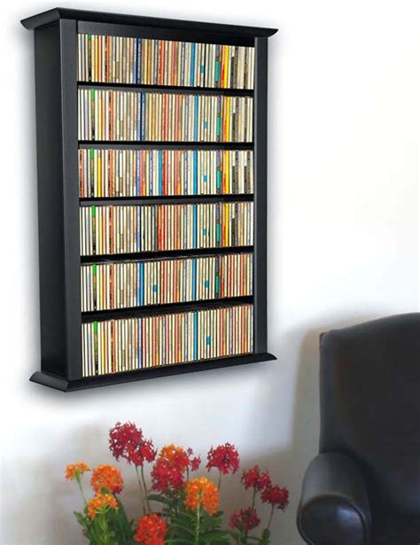 wall dvd shelf wall mount cd dvd storage rack 342 cd 160 dvd 5 color