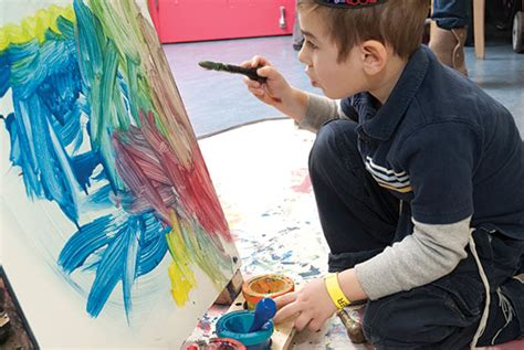 painting boy boy painting at ccm let s play