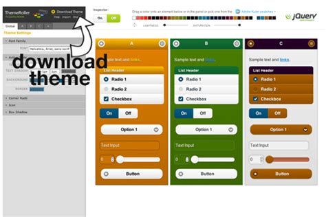 download theme for jquery mobile jquery mobile 1 0