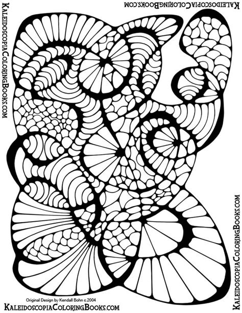 free printable abstract coloring coloring pages
