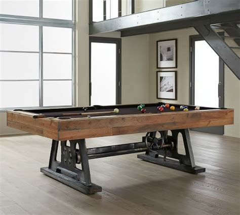 pottery barn pool table da vinci pool table pottery barn