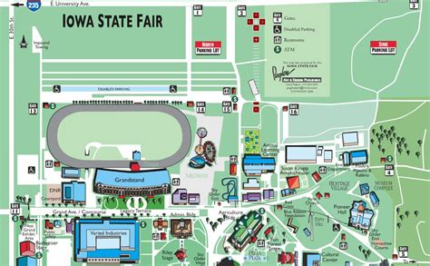 State Of Iowa Search Map Of Iowa State Fairgrounds Iowa State Fair Search Iowa Iowa State